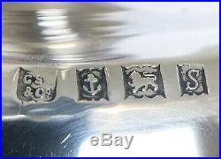 1 KG HEAVY Vintage Antique 925 Solid Silver / Candle Sticks Birmingham 1967