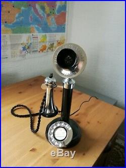 Antique Candle Stick Telephone Vintage Circa 1920s