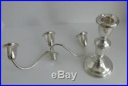 Antique, vintage, STUNNING, candlesticks, candelabra, STERLING, Empire Co. K212
