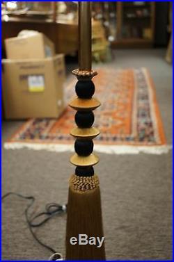 Fredrick Cooper Tyndale Candlestick Tasseled Table Lamp Vintage Regency Style