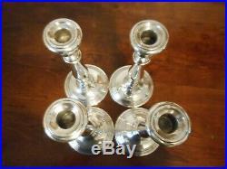VTG GORHAM STERLING SILVER Candlestick 669 Lot 4 Piece 10 Not Scrap