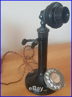 Vintage 1923 GPO Candlestick telephone No. 2/150