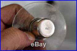 Vintage Bruckmann & Sohne 835 Sterling Silver Candelabra Candle Stick Holder