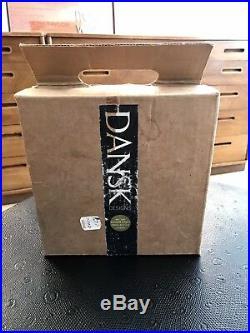 Vintage Dansk Iron Saucer Spray Candlestick #1421, Original Box, Jens Quistgaard
