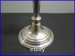 Vintage Gorham Sterling Silver Weighted Candlesticks Hollowware 674 Lot Of 2
