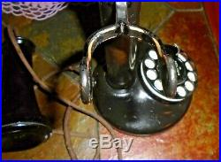 Vintage Western Electric 50AL Rotary Dial Candlestick Telephone With 2AB Dial NICE